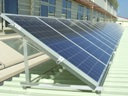 Large photovoltaic installation